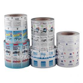Paper plastic composite film