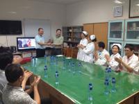 与东莞人民医院手外科学术交流活动