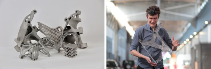 seatframe Autodesk 3D printing
