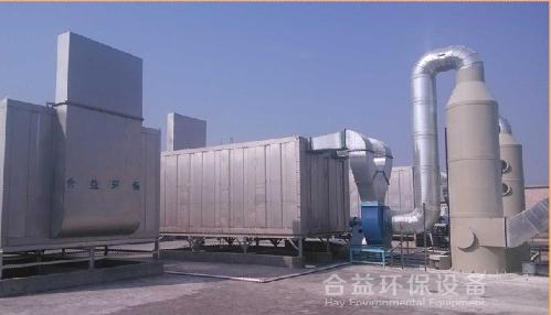 高效微生物廢氣處理净化塔