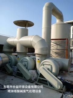 噴淋塔酸堿廢氣處理設備
