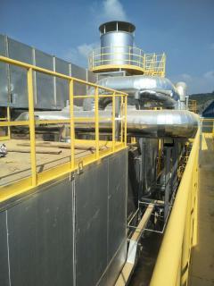 RTO廢氣處理設備現場安裝