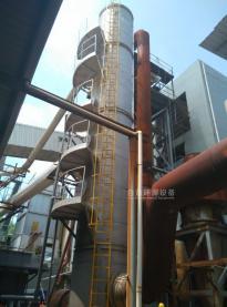 某岩棉生産廠家脫硫塔處理廢氣
