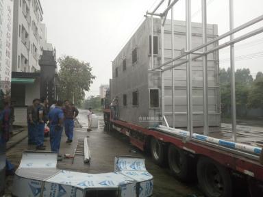江蘇南通寶勝化工有限公司微生物除臭設備運輸現場